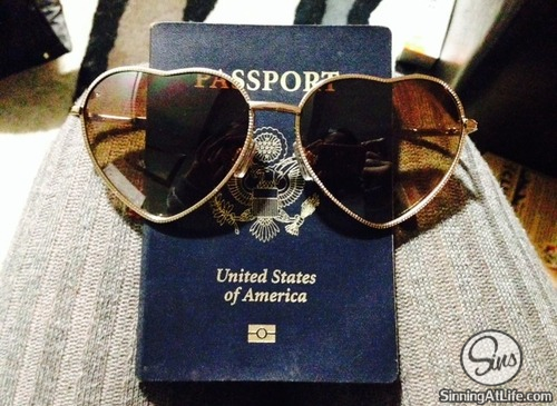 passport american passport with sunglasses heart sunglasses kissa sins johnny sins